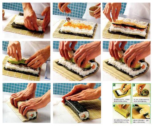 Как делать роллы в домашних условиях пошагово фото рецепты