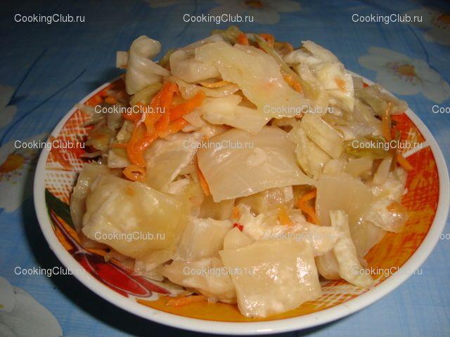 Как сделать маринад для капусты