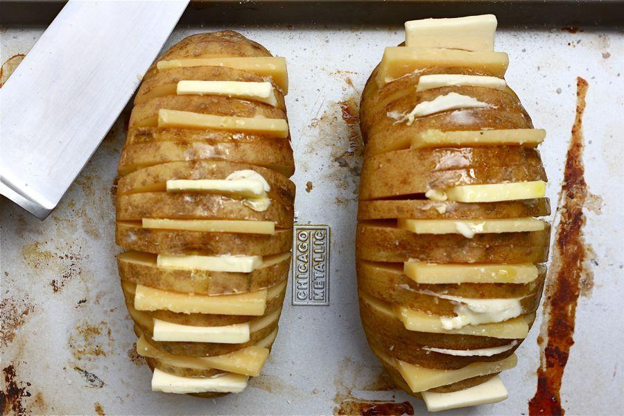 Запеченная картошка с сыром рецепты