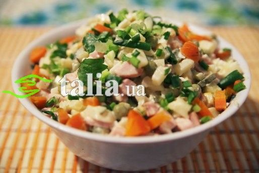 Оливье рецепт традиционный с фото