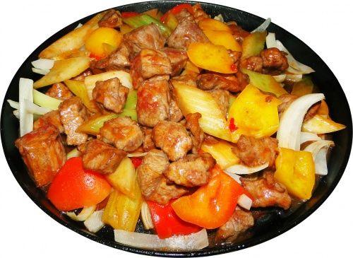 Рецепт жареной говядины на сковороде