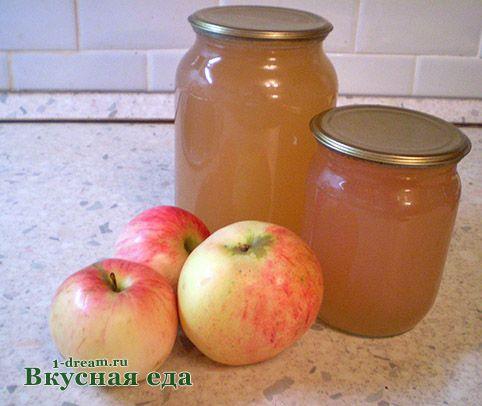 что приготовить из яблочный сок в домашних условиях рецепт