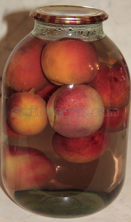 Компот из персиков в домашних условиях на