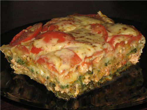 рецепт лазаньи в домашних условиях в духовке с фото