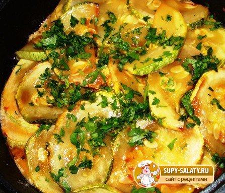 Блюда с кабачков рецепты простые и вкусные