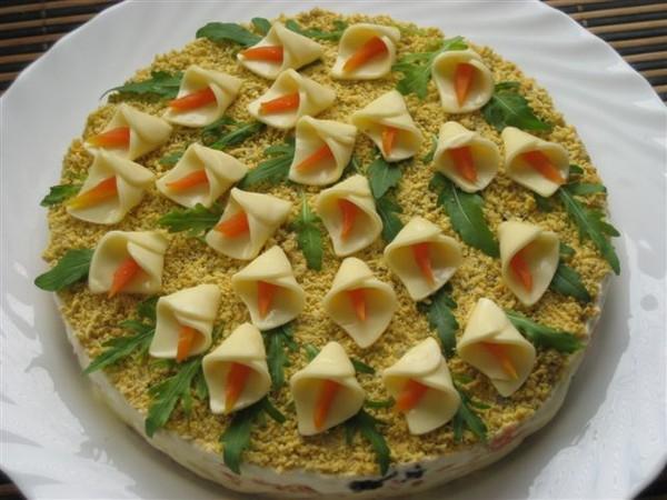 лёгкие салаты рецепты с фото на день рождения