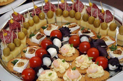 Горячие закуски на стол на день рождения